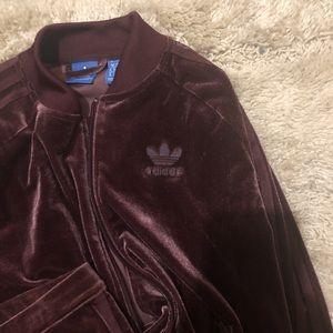 Adidas Velour Suit